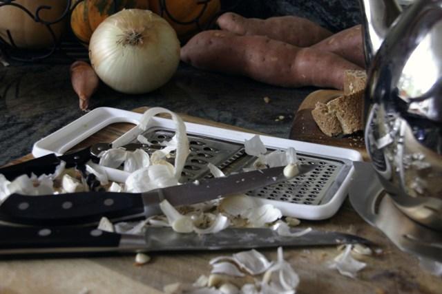Mucho garlic