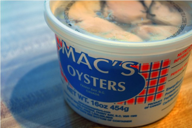 Local Mac's Oysters