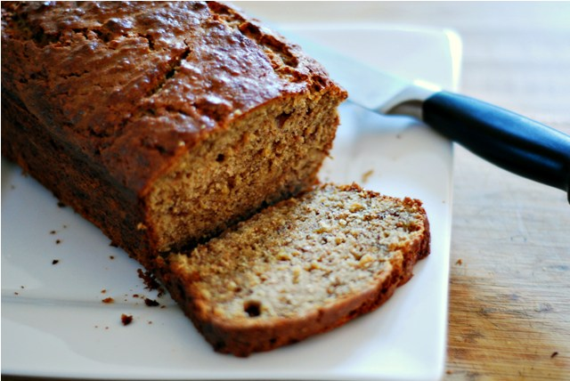 Brown Butter Roasted Banana Bread