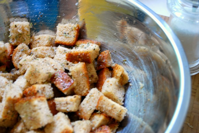 Raw Croutons