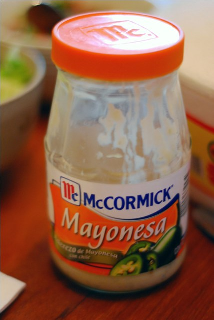 Mayonesa with Jalapeno from Mexico