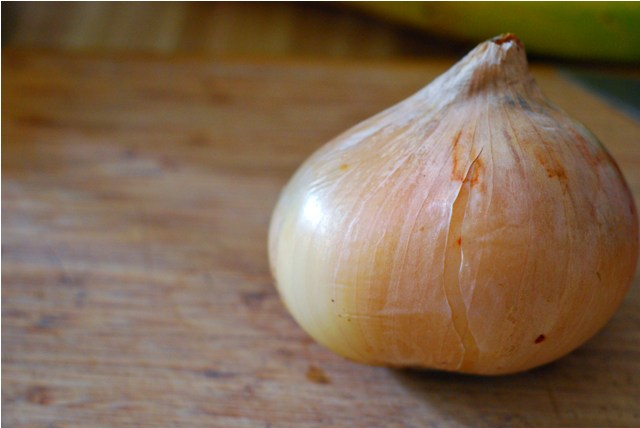 Lonely sweet onion