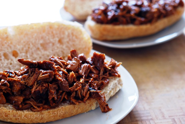 Pulled Pork Butt Steak Sandwiches
