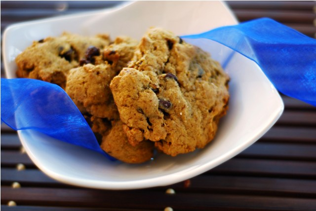 Chocolate Chip Pumpkin Cookies from Guilty Kitchen