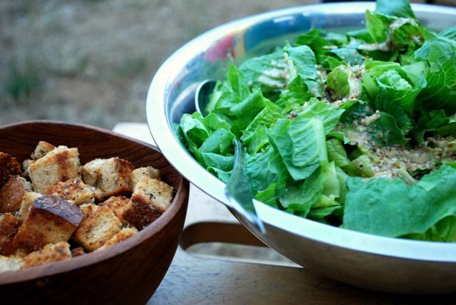 Salad assemblage