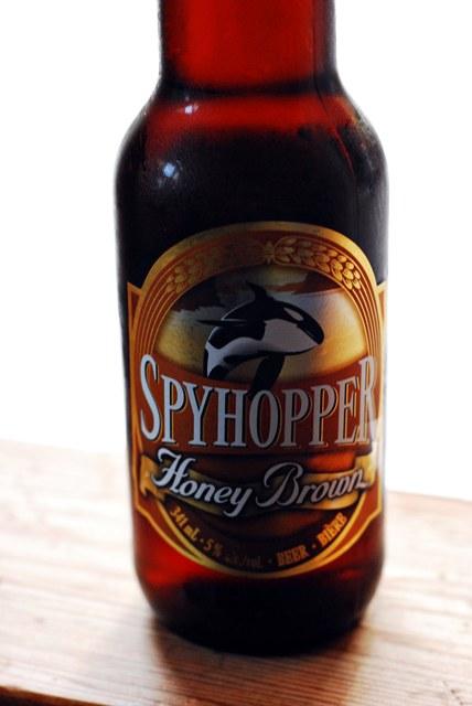 Vancouver Island Brewery Spyhopper Honey Ale
