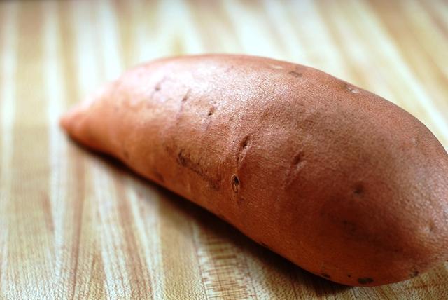 Sweet  Potato close up