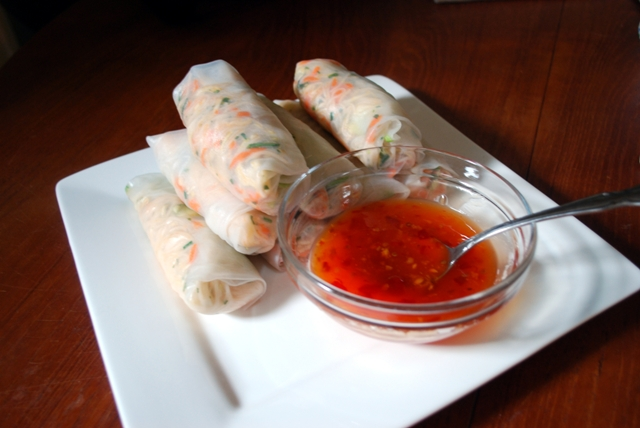 Whole rice noodle wraps