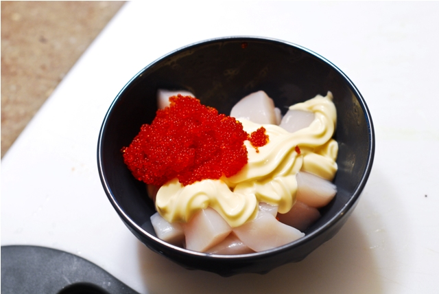 What to fill sushi with archives guilty kitchen for Flying fish roe