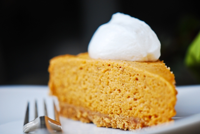 Pumpkin Chiffon Pie Recipe — Dishmaps