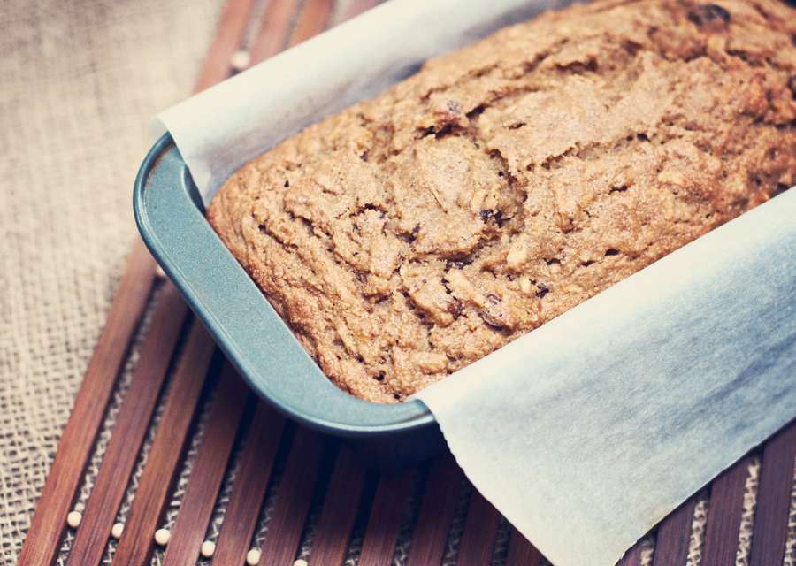 Pear and Apple Spice Bread