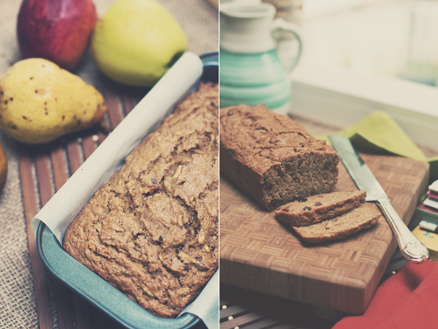 Apple Spice Bread Diptych 1-2