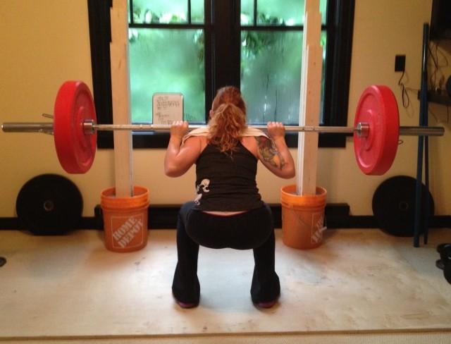 Elizabeth DIY Squat Stand