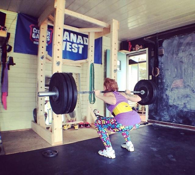 back squat PR