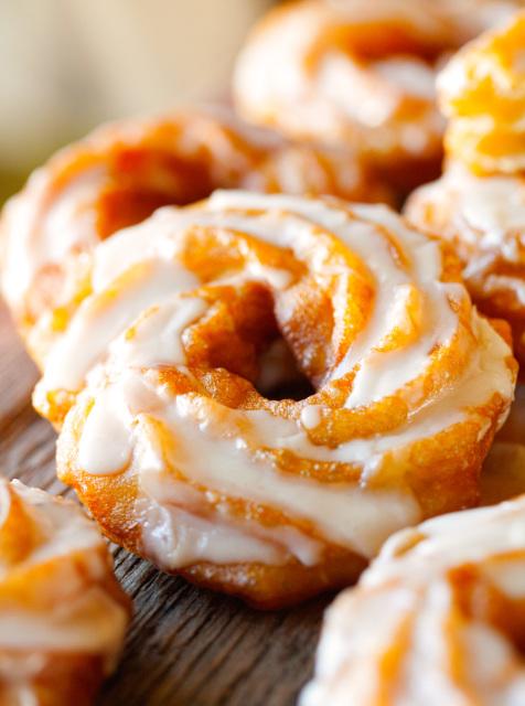 pumpkin-spice-brulee-with-a-drippy-honey-spice-glaze